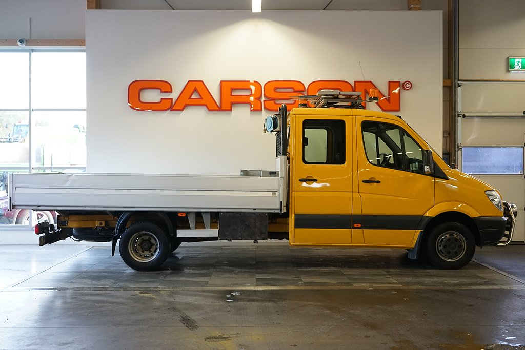 Mercedes-Benz Sprinter 516 CDI 6-Sits Drag