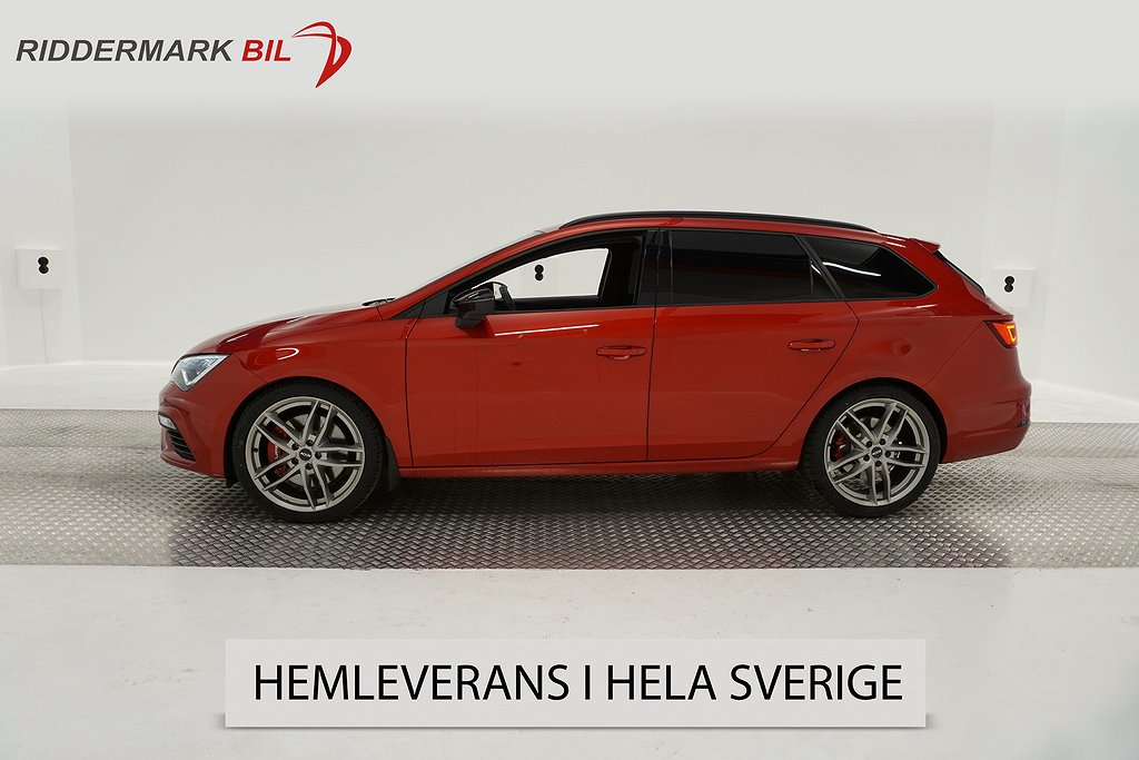 Seat Leon 2.0 TSI Cupra ST 4Drive (300hk)