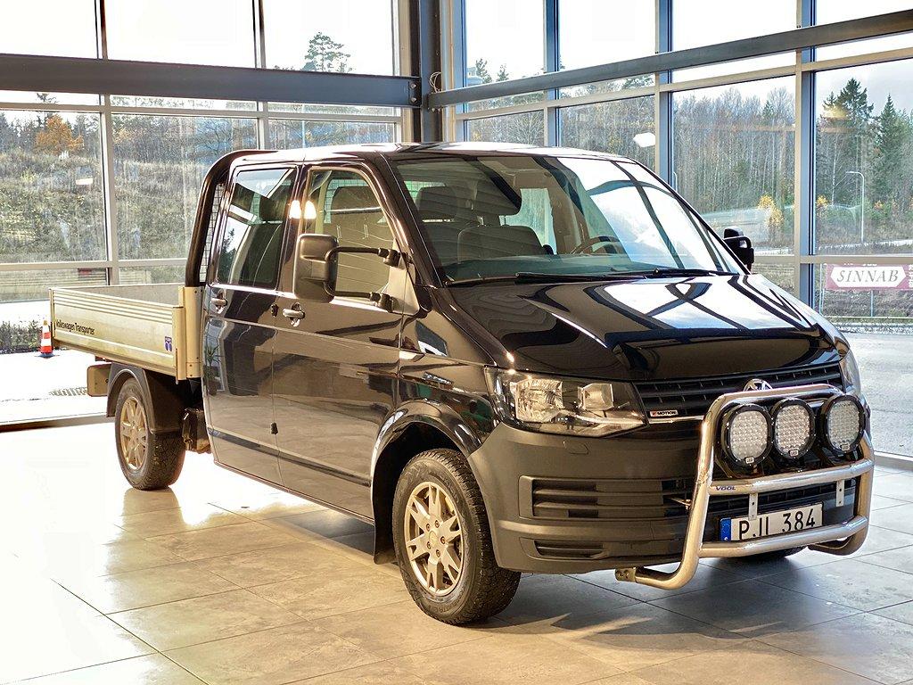 Volkswagen Transporter 2.0TDI 150hk/4-M/Euro6/D-hytt