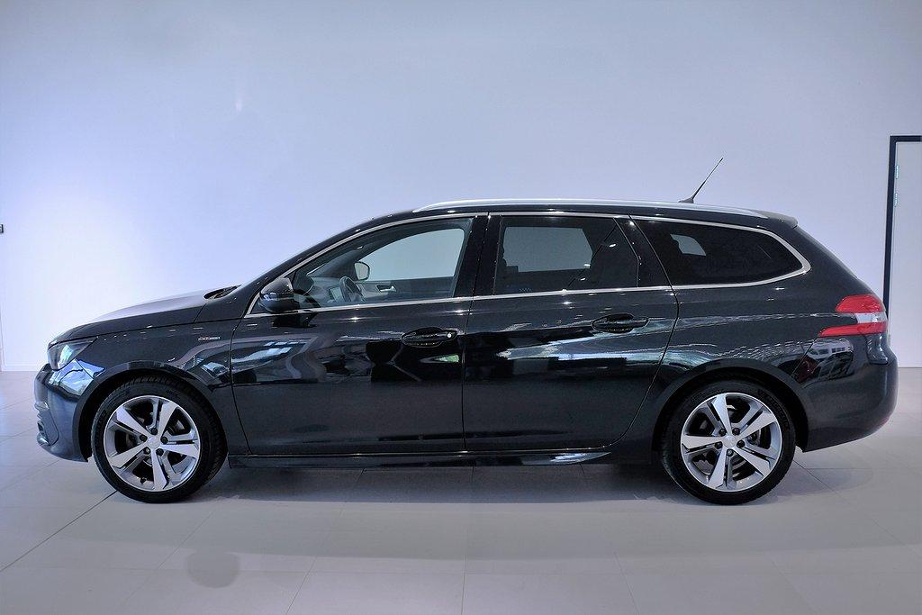 Peugeot 308 1,2 130hk Aut SW GT-Line /Panoramatak