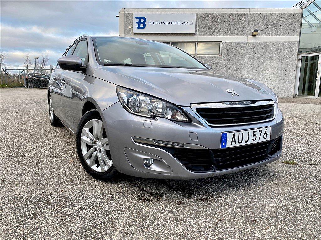 Peugeot 308 SW 1.6 BlueHDI FAP Manuell, 120hk Active