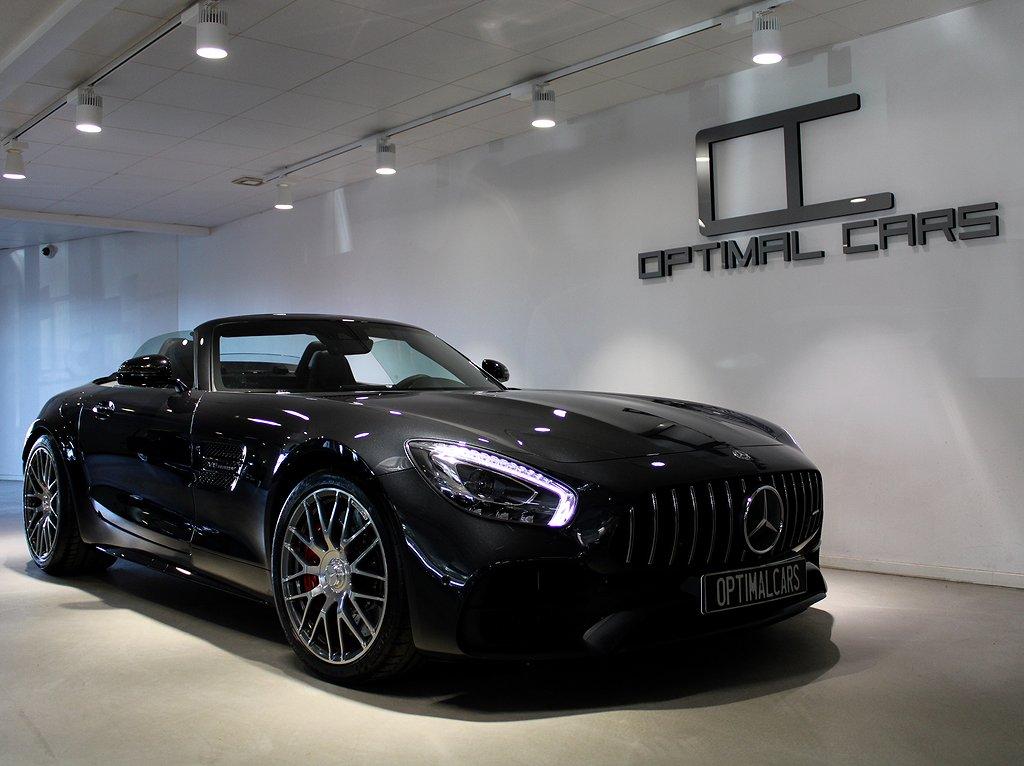 Mercedes-Benz AMG GT C Roadster Exclusive 557Hk Svensksåld