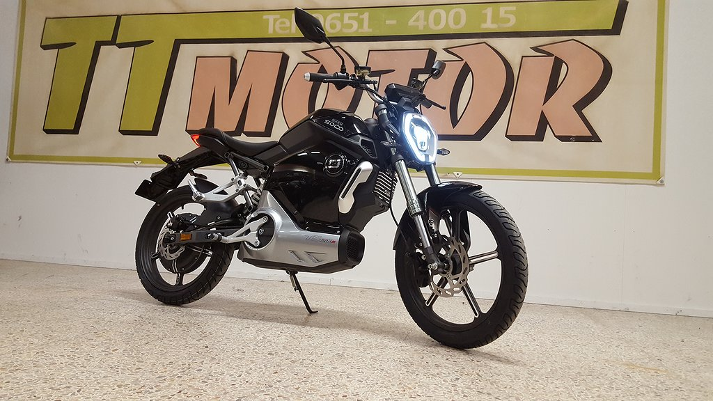 Super SOCO TS1200 R EL-MOPED Bra Finanser