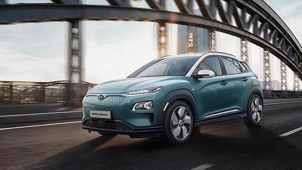 Hyundai Kona Electric 64 kWh Premium+ Leverans Mars/April