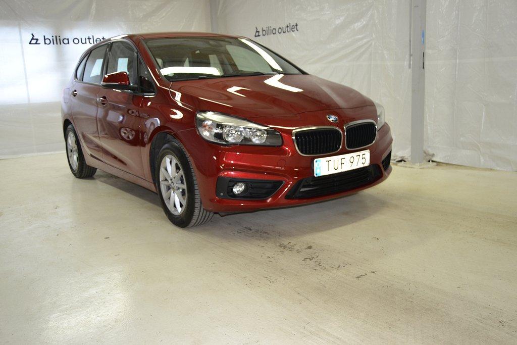 BMW 218 i Advantage Sportstolar Drag Backkamera 136hk