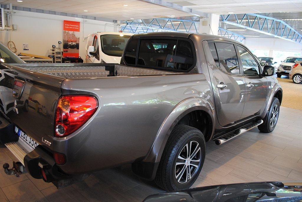 Mitsubishi L200 1.95%ränta/5.000kr i bränsle*DC 2.5 178hk 4x4 Business Aut