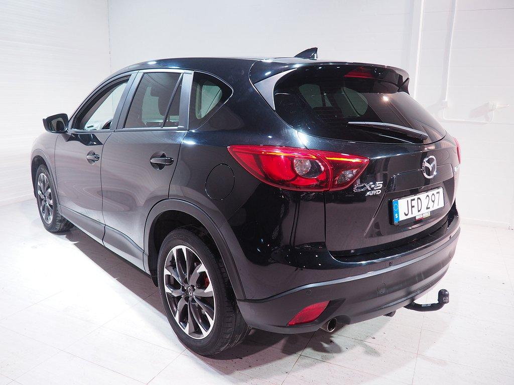 Mazda CX-5 2.5 AWD Optimum Dragkrok 2017