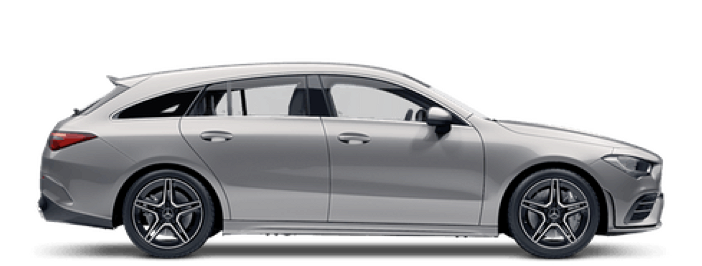 Modellbild av en Mercedes-Benz CLA Shooting Brake Plug-In Hybrid