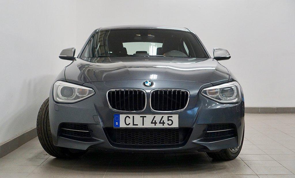 BMW M135i M-sport Läder HiFi Nyservad V-Hjul