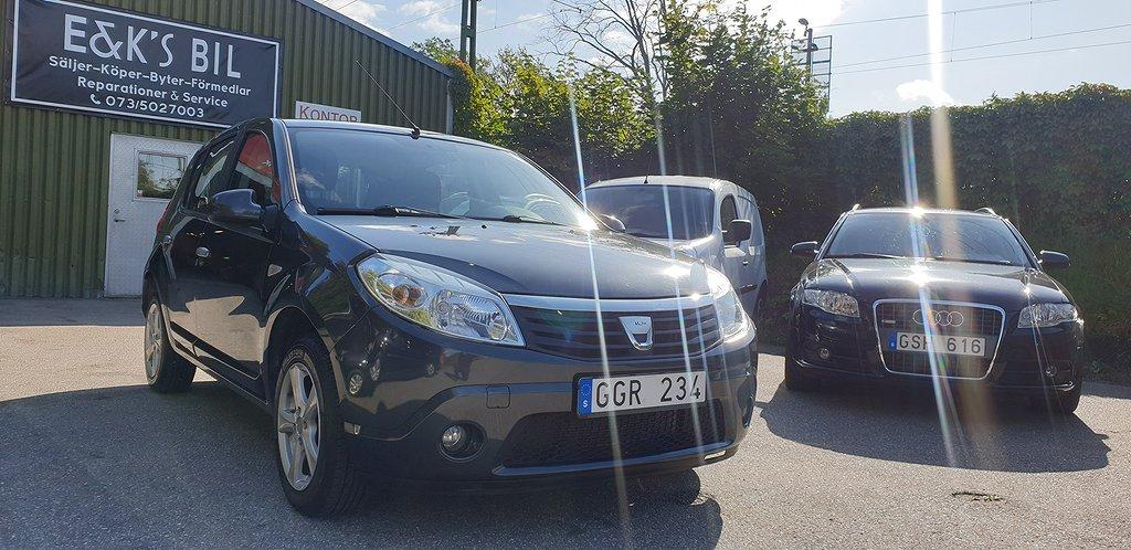 Dacia Sandero 1.6 E85 87hk