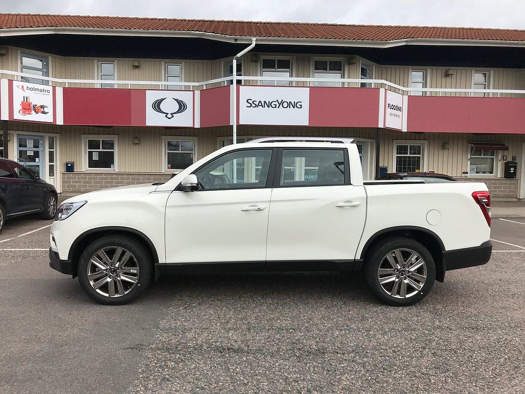 SsangYong Musso 2.2L EXECUTIVE 4WD LÅG SKATT NYA MODELLEN