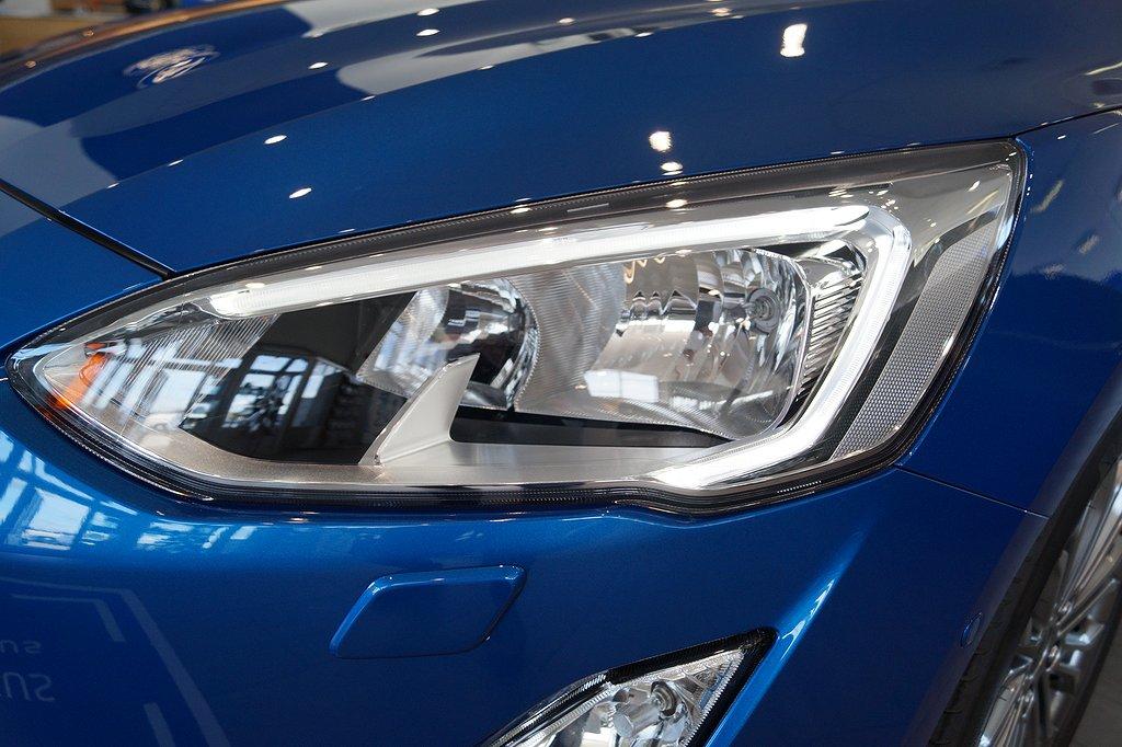 Ford Focus 1.0T EcoBoost 125hk Titanium 5dr,  Nya modellen!