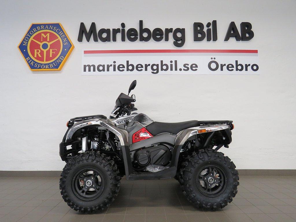 Goes Wolfram IRON 4WD ATV Drag/Vinsch