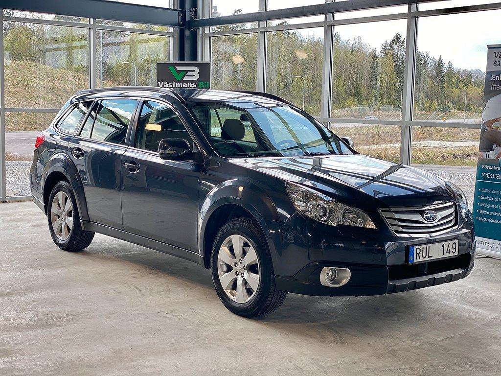 Subaru Outback 2.5 167hk/4WD/Lineartronic/drag/auto