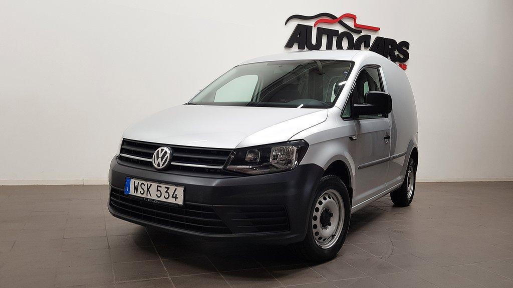 Volkswagen Caddy 1.2 TSI Parkvärmare   Dragkrok   Leasbar