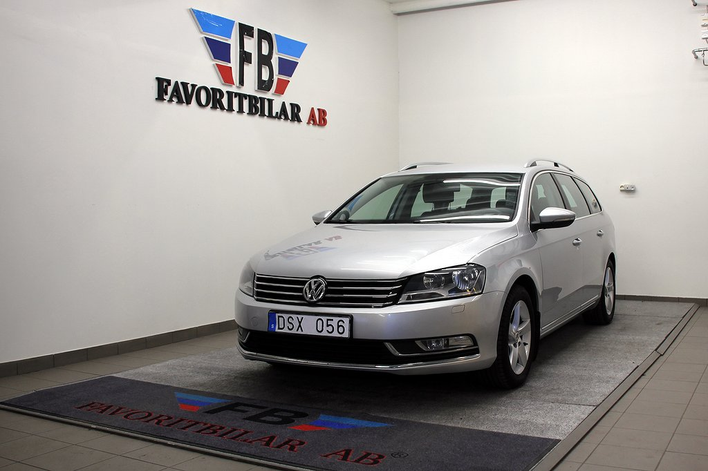 Volkswagen Passat Variant 2.0 TDI BlueMotion 140hk
