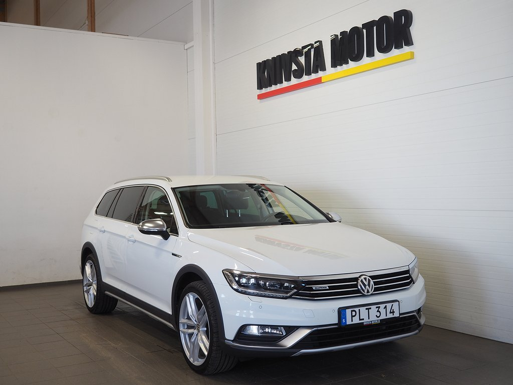 Volkswagen Passat Alltrack 2.0 TDI 4M Aut 190hk Drag D-Värm 2018