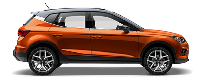 Modellbild av en Seat Arona