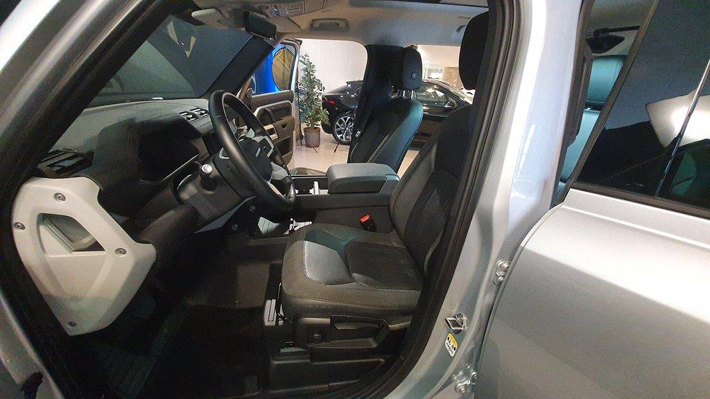 Land Rover Defender 110 D240 7-sits 240hk Dragkrok Leasbar
