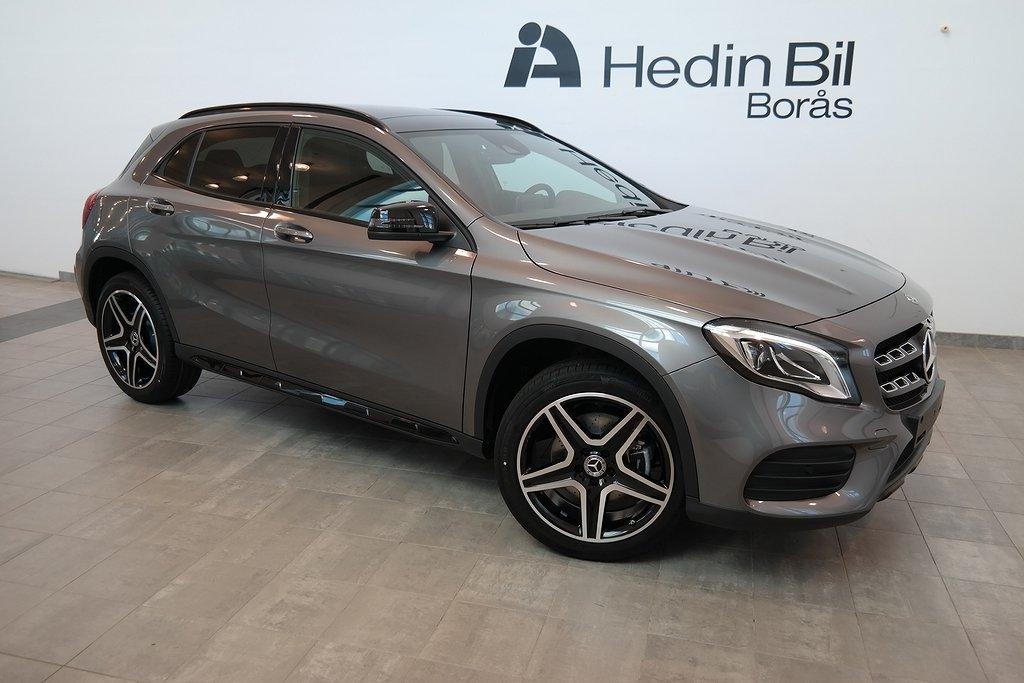 Mercedes-Benz GLA // AMG Line // Night Package // Advantagepaket // Dragkrok // Pa