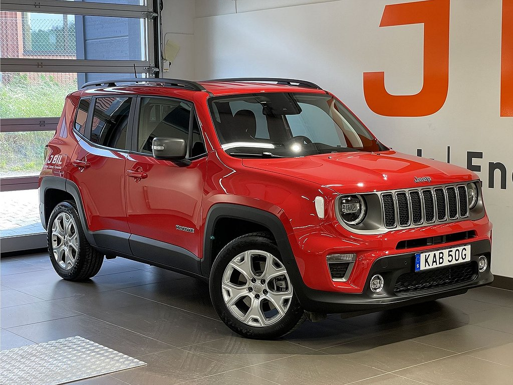 Jeep Renegade Limited PHEV 1.3 T4 190hk AT6 eAWD -Demo