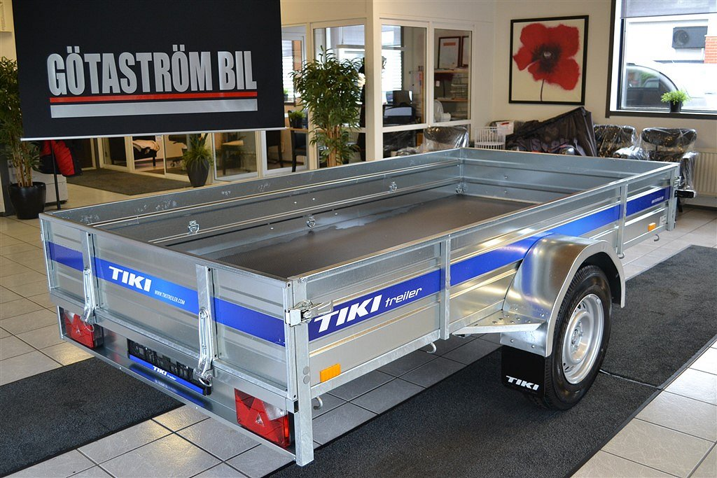 Tiki-Treiler CP 300-RB /1400KG *Stödhjul*