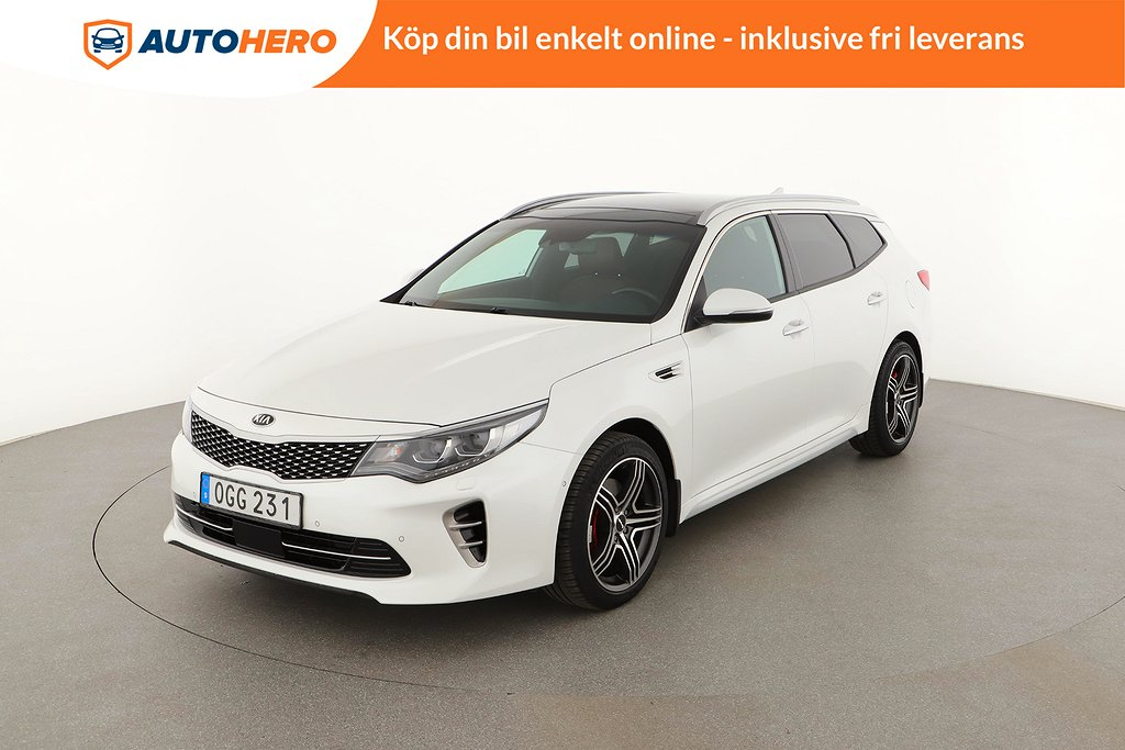 Kia Optima Sport Wagon 1.7 VGT DCT / Pano, Adaptivfh, H&K