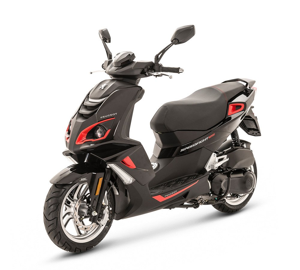 Peugeot SPEEDFIGHT 4 PURE 125 CC MAD BLACK/RED