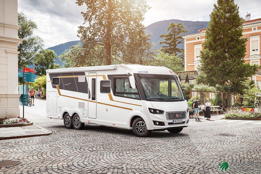 Eura Mobil Integra 760 EF *På väg in* NYHET!