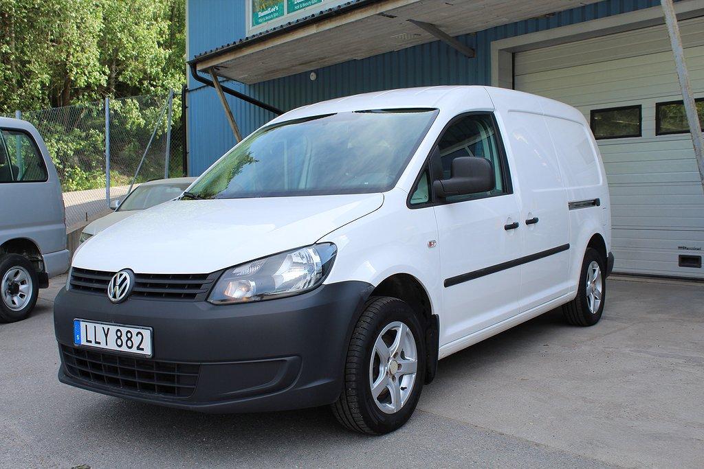 Volkswagen Caddy 1,6 TDI 102HK Maxi Webasto Drag