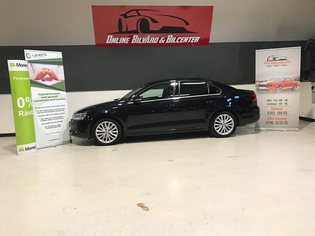 Volkswagen Jetta 2.0 TSI DSG Sekventiell Premium 200hk