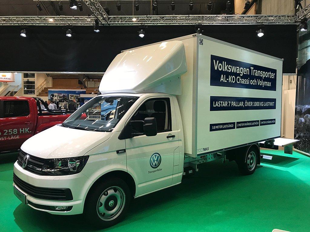 Volkswagen Transporter Volymax Berco AL-KO Chassi 204hk DSG 1000kg lastvikt