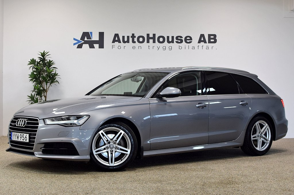 Audi A6 Avant 2.0 TDI quattro 190HK Drag Värmare GPS Nyservad