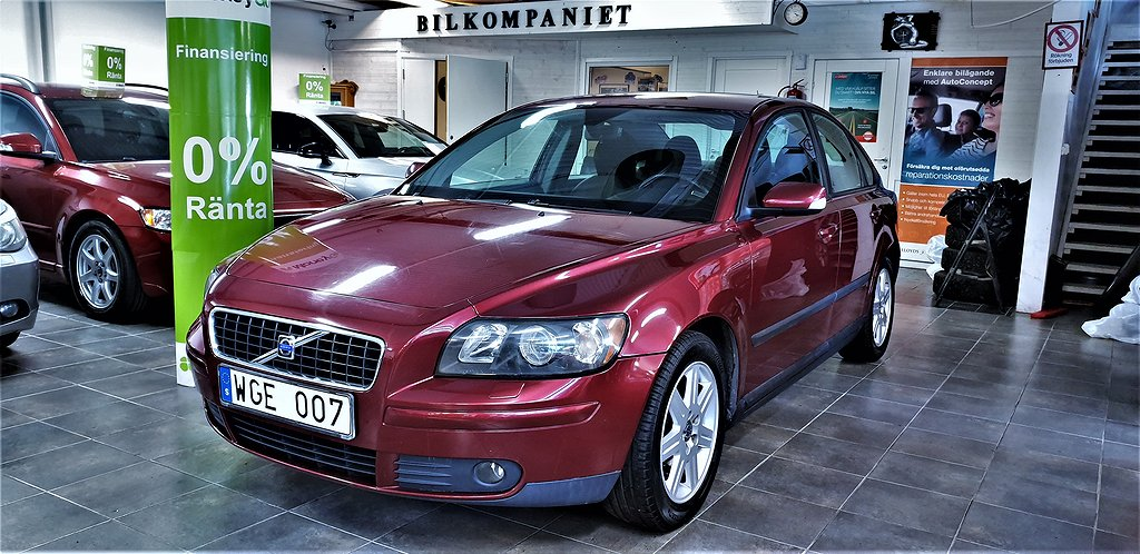 Volvo S40 2.4 Kinetic 170hk,Servad,Bes,Drag,