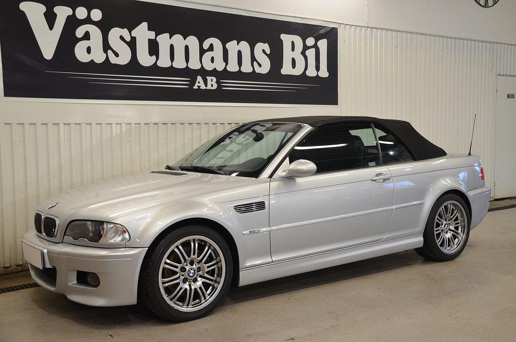 BMW M3 3,2 343hk/Cab/4400mil/SV-såld