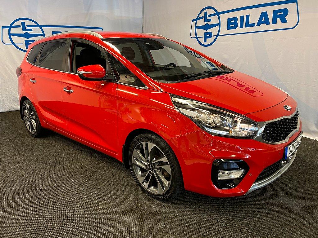 Kia Carens Advance Pluspaket 1.7 DCT 7sits 141hk Drag, Vhjul