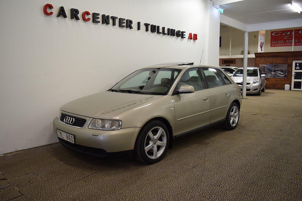 Audi A3 5-dörrar 1.8 T Auto 150hk Taklucka ACC NY BESIKTIGAD