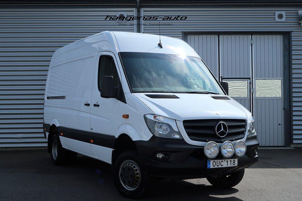 Mercedes-Benz Sprinter 516 BlueTEC / 4x4 / Drag / Moms