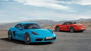 Porsches nya sportcoupé 718 Cayman