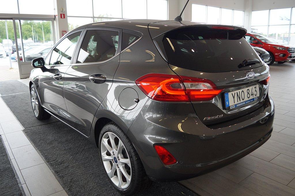 Ford Fiesta *1.95%ränta&5000kr i fritt bränsle* 1.0 EcoBoost 100hk Ti
