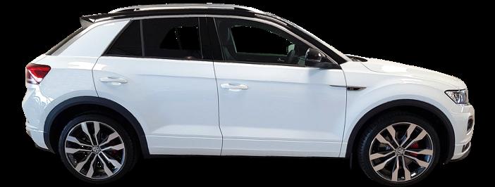 Modellbild av en Volkswagen T-Roc