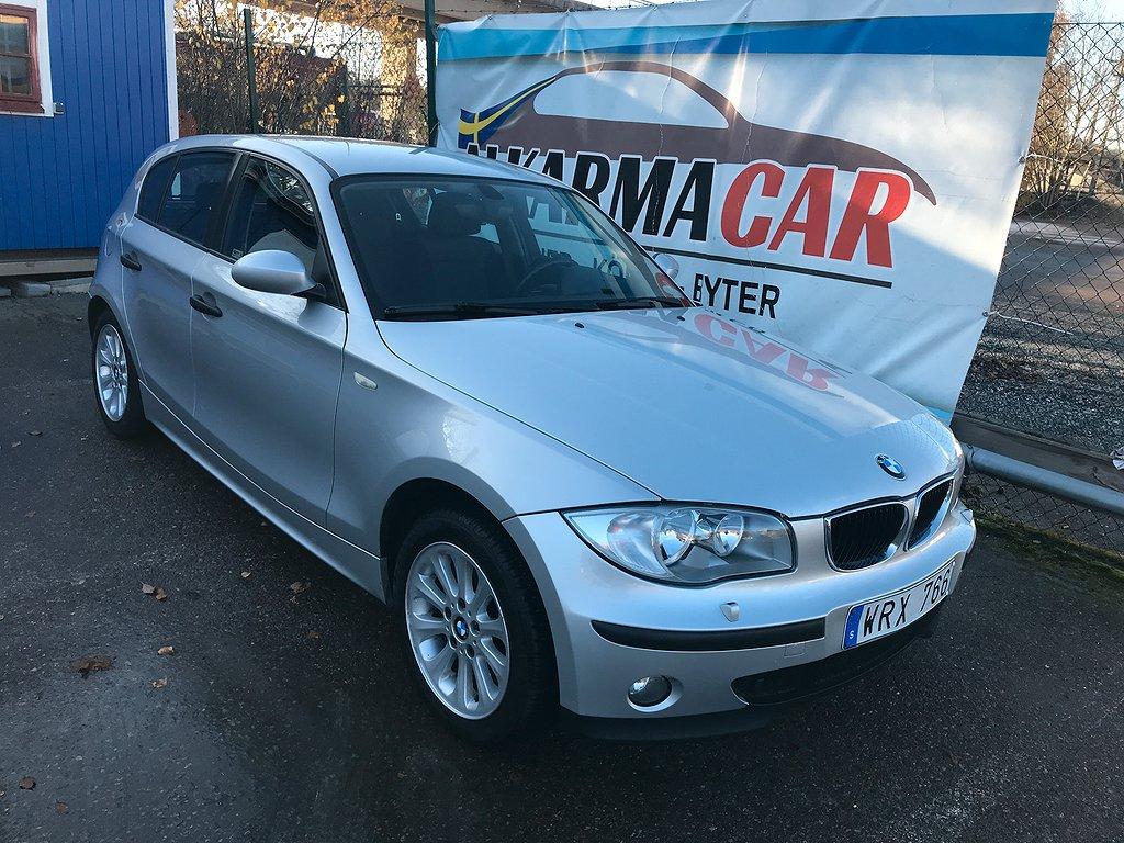BMW 118 i Steptronic Advantage 129hk, Ny bes