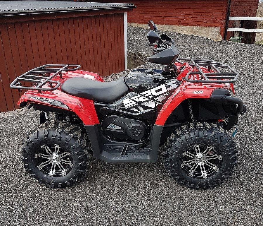 CF Moto 520 EFI/EPS PASSA PÅ!! Gränna ATV
