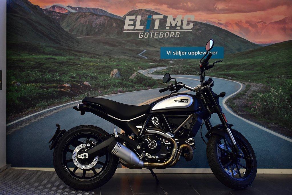 Ducati Scrambler 800 Dark finns i butik ELIT MC Göteborg