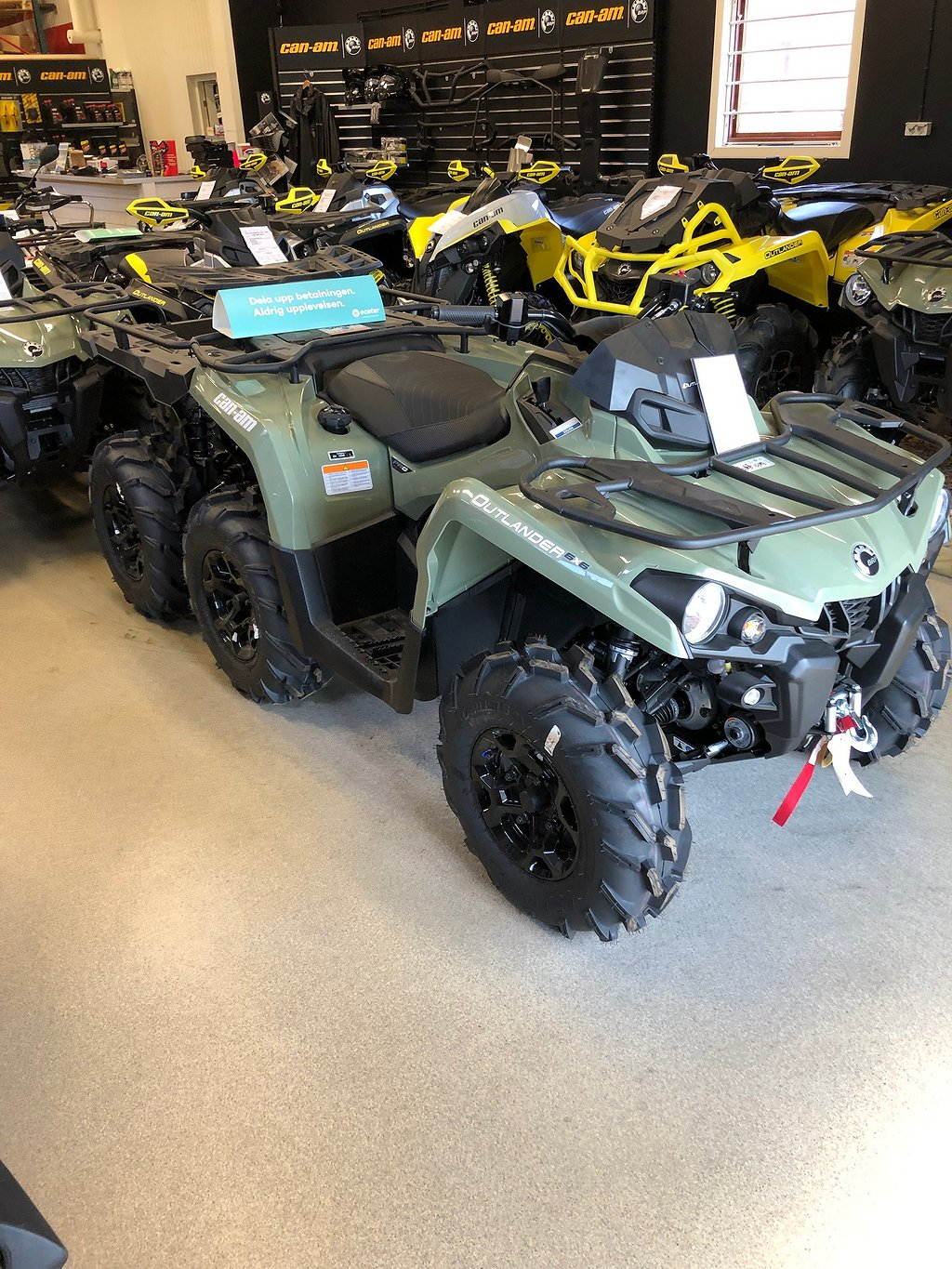 Can-Am Outlander 6x6  450 EPS