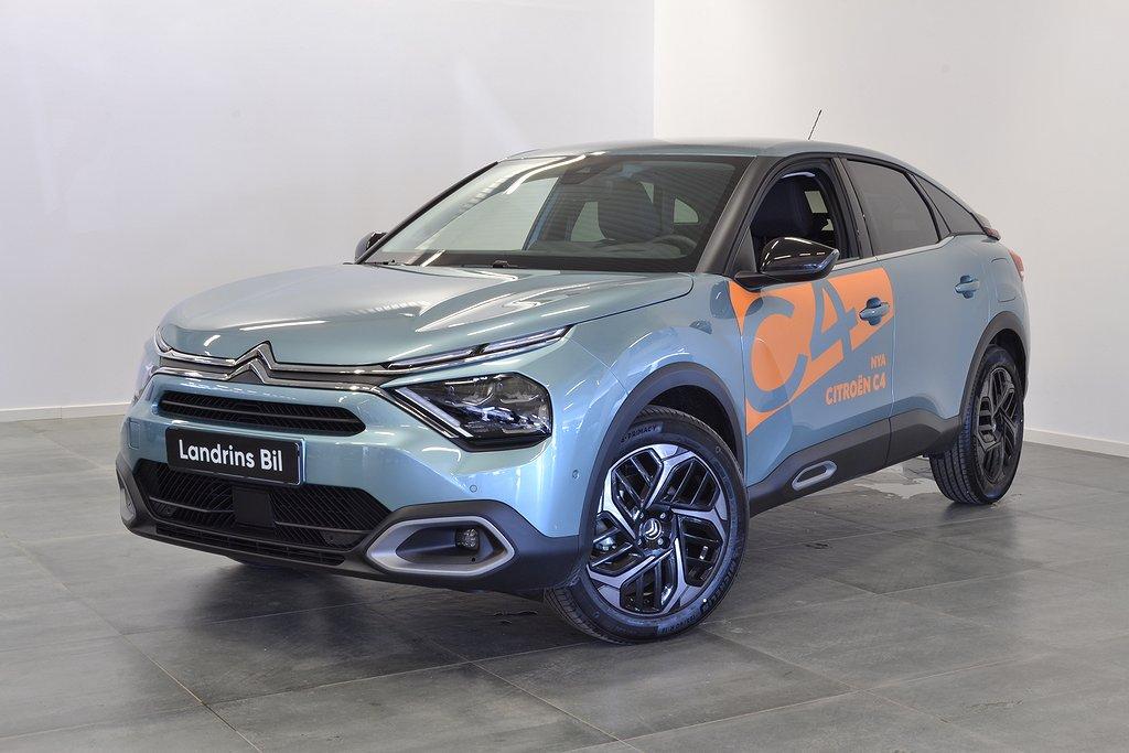 Citroën C4 1.2 PureTech EAT 6 | SHINE | Ink Service 155hk