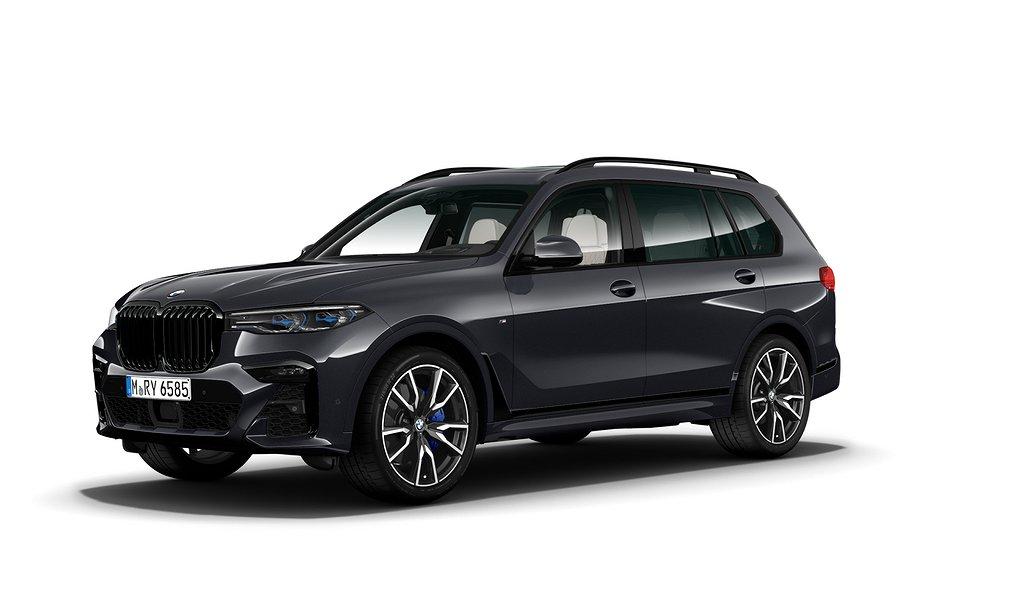 BMW X7 xDrive30d DEMOBIL M Sport Panorama glastak Sky Lounge Drag