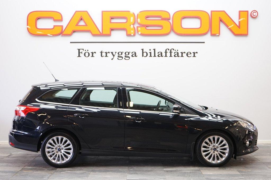Ford Focus Kombi 1.0 100HK EcoBoost Årsskatt 382Kr
