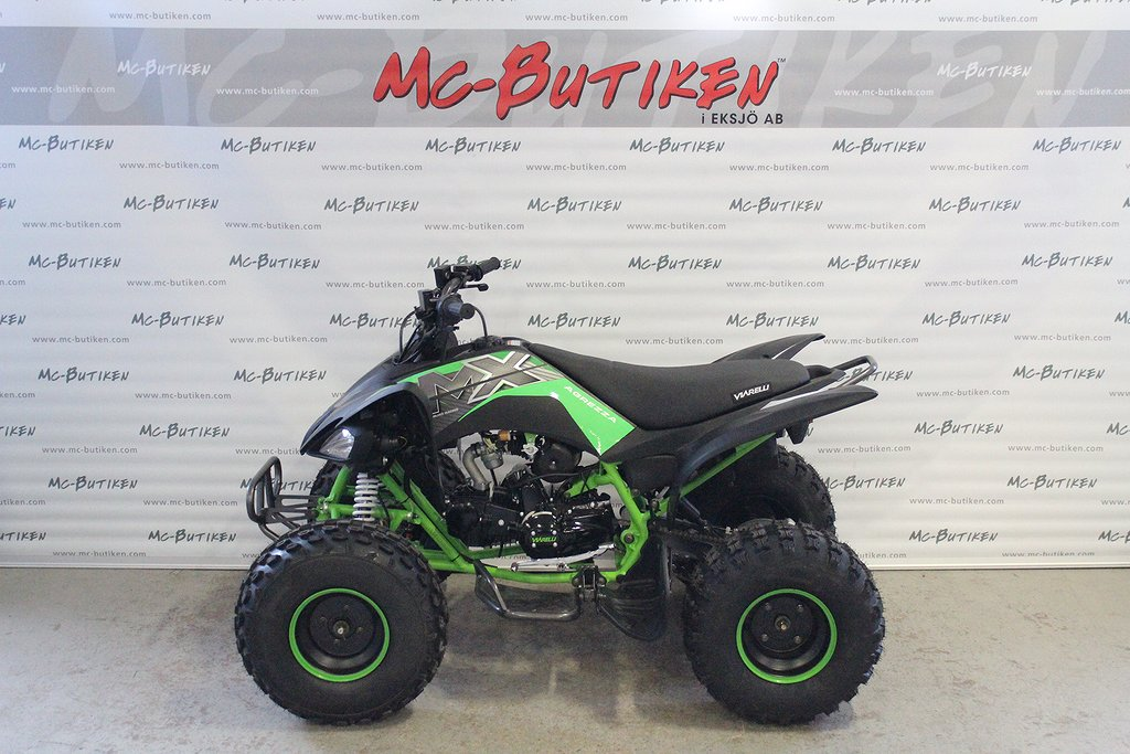 Viarelli Agrezza ATV 125 Mattsvart / Grön