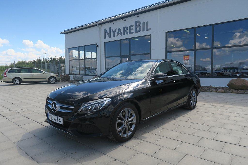Mercedes-Benz C 220 d 9G-Tronic Automat  170hk Se pkt  Premium